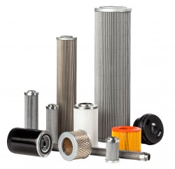 Hydraulic Filter For Filtering Oil Mist For Example